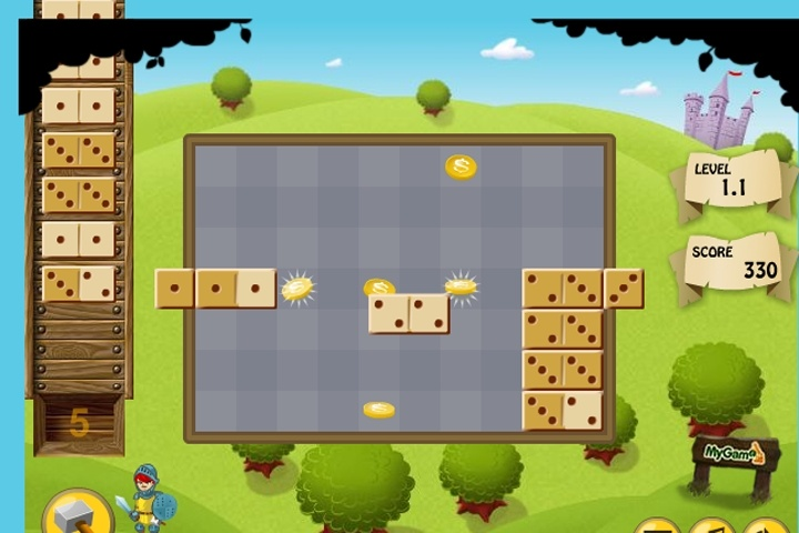 Domino Knight Game