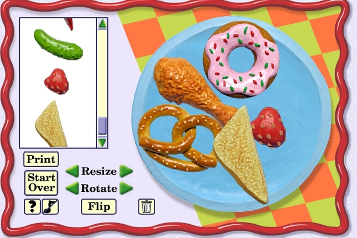 Make Your Funny Food Face Game. Other Online Game info