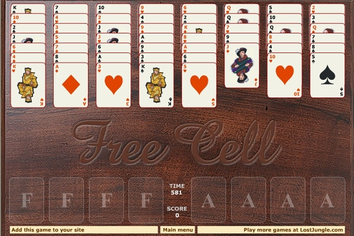 Freecell Solitaire 2 Game