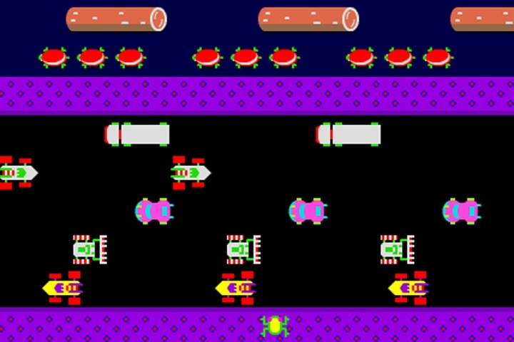 Frogger Retro Game Frogger Games Games Loon