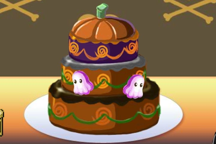 Halloween Cake Maker Game Halloween Games Games Loon