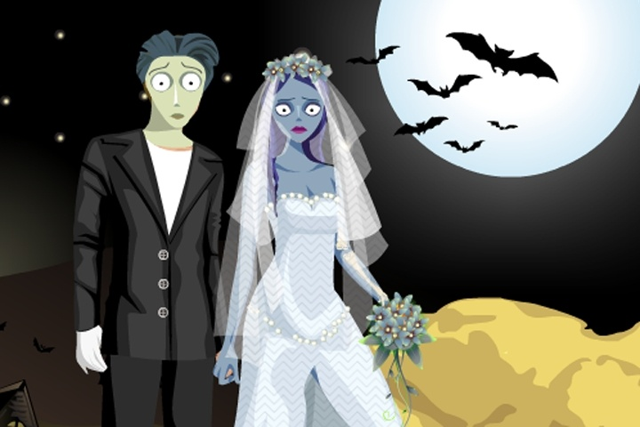 halloween couple dress up game - Free Halloween Dress Up Games