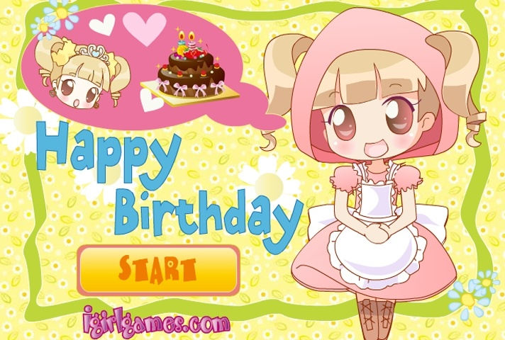 Happy Birthday Cake Decoration Game Coloring games Games Loon