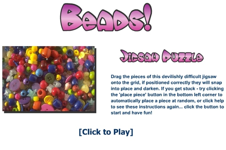Beads Jigsaw Puzzle Game Jigsaw Games Games Loon