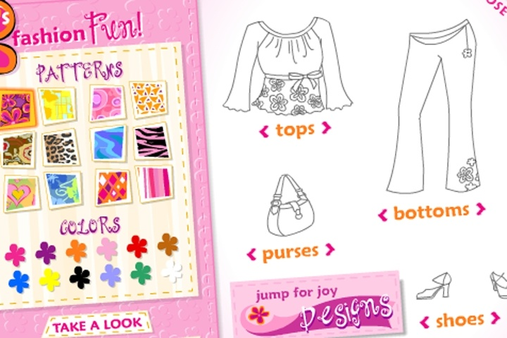 Joy S Fashion Fun Game Play Free Make Your Own Games Games Loon