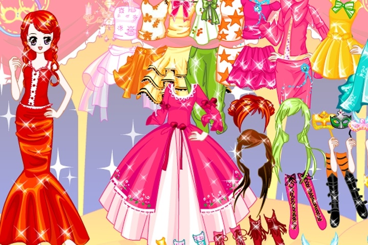 Fashionable Cutie Lovely Dressup Game