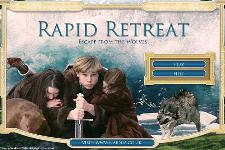 chronicles of narnia games online free