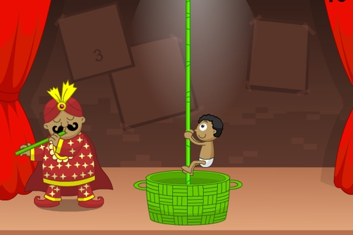 The Great Indian Magician Game