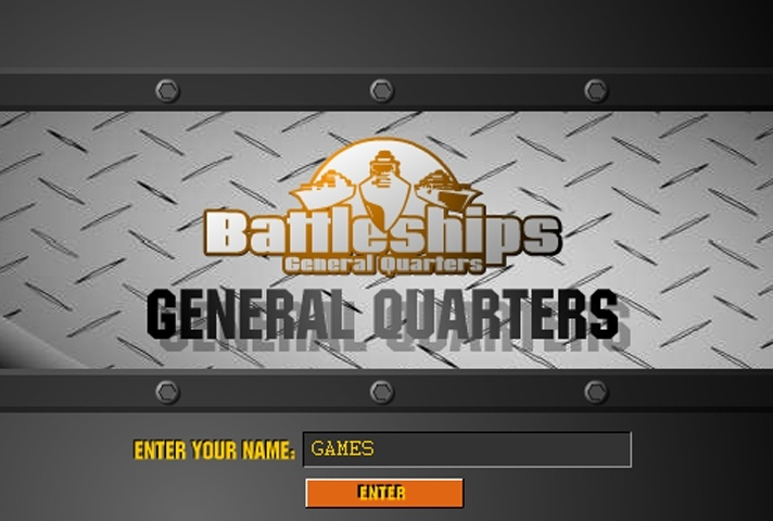 Battleships General Quarters Game
