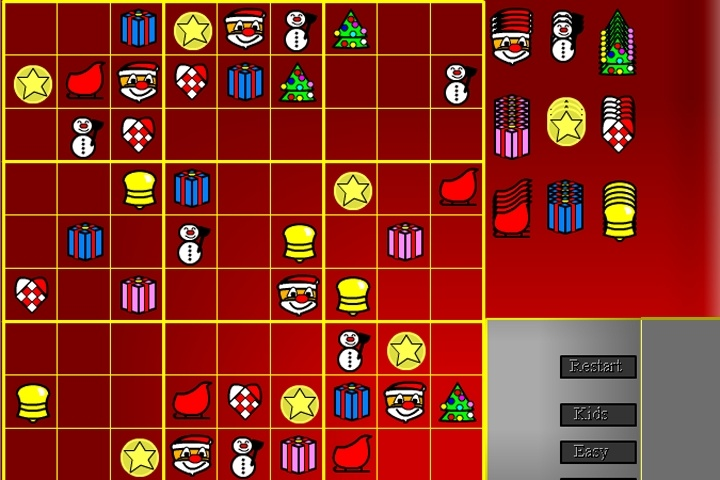 Christmas Sudoku.Christmas Sudoku Game Sudoku Games Games Loon