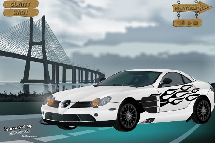Pimp my mercedes benz slr 722 game other racing games for Mercedes benz games
