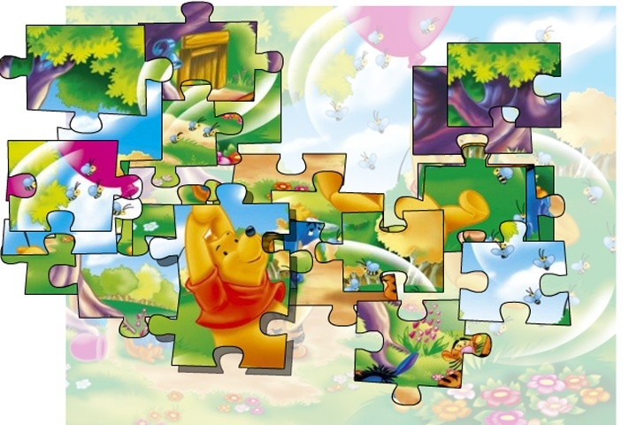 Winnie The Pooh Giochi: Winnie The Pooh Collection Puzzle Game