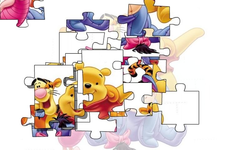 Winnie The Pooh Giochi: Winnie The Pooh Forever Puzzle Game