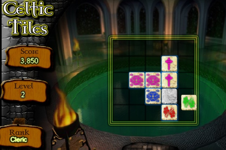 Celtic Tiles Solitaire Game