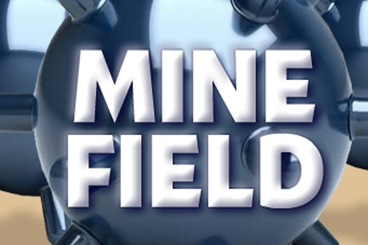 minefield game - logic games