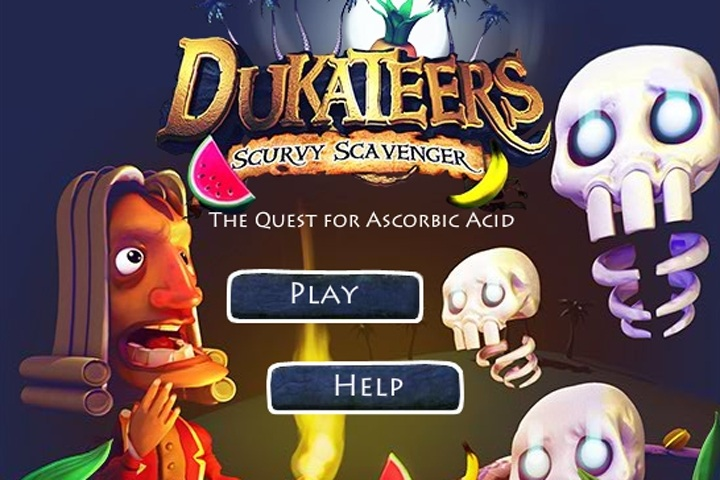 Dukateers Scurvy Scavenger Game