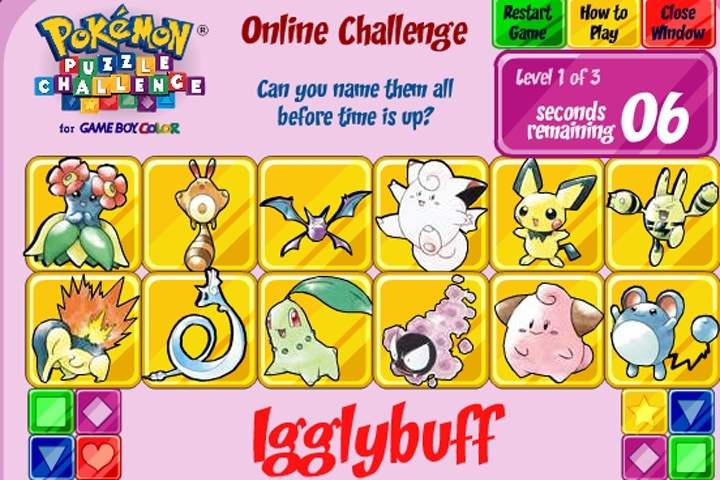Pokemon puzzle challenge game pokemon games games loon pokemon puzzle challenge game publicscrutiny Image collections