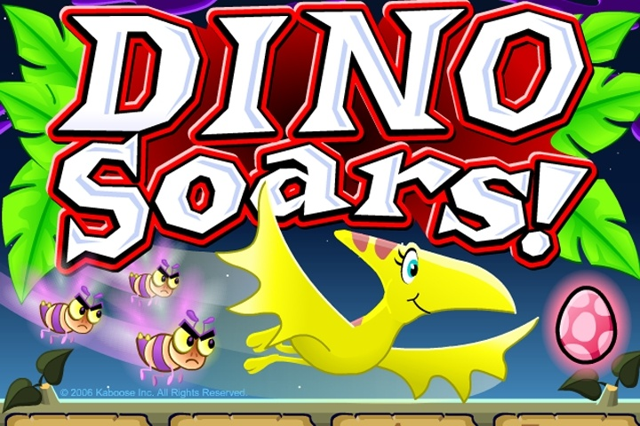 dino soars game - animal games