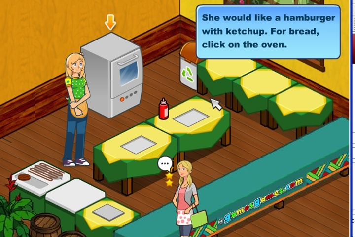 Burger Restaurant 2 Game Cooking Games Games Loon
