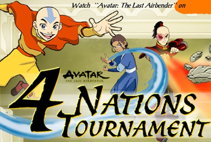 Avatar 4 Nations Tournament Game Avatar The Last Airbender Games