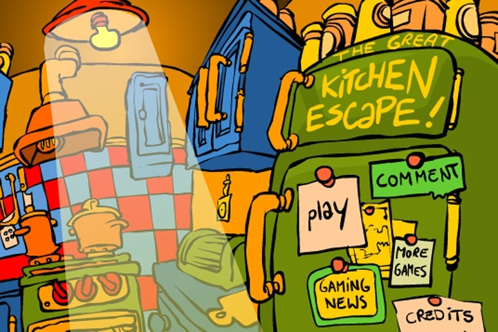 The Great Kitchen Escape Game Play Free Escape Games Games Loon