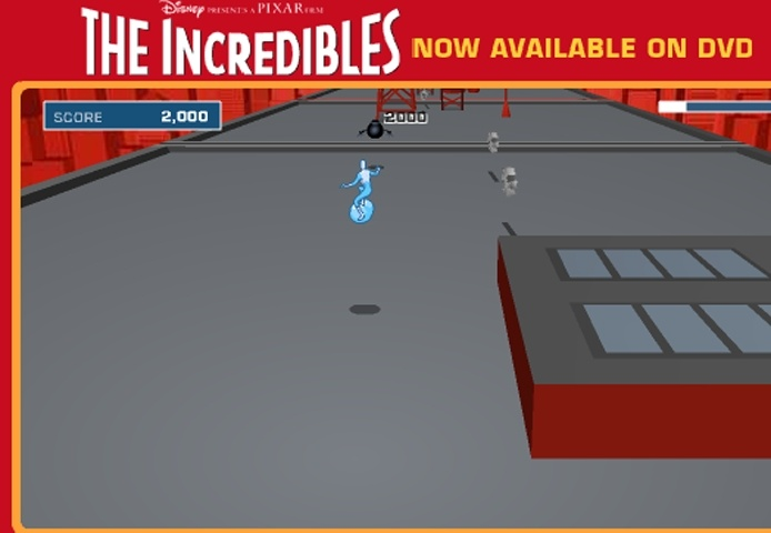 The Incredibles Thin Ice Game