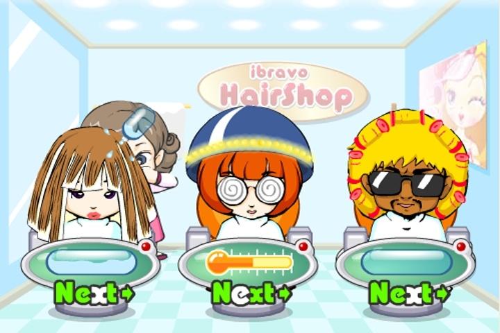 Hair Styling Games Online: Extreme Hairdresser Game