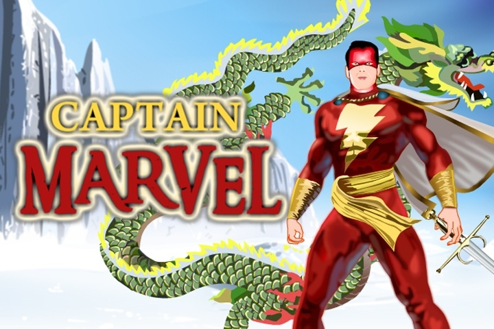 Captain Marvel Dress Up Game - Boys Games - Games Loon-9466