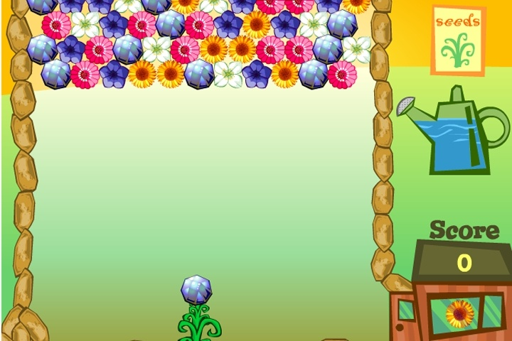 Flower Power 2 Game - Match 3 games - Games Loon