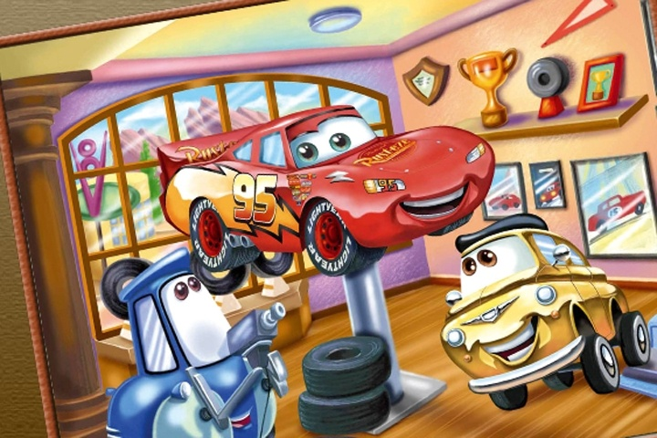 Cars Movie Online Coloring Game - Coloring games - Games Loon