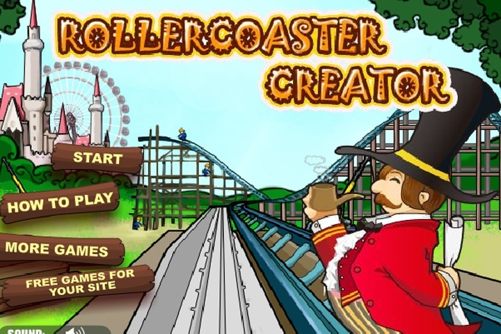 Rollercoaster creator game tycoon games games loon for Building maker online