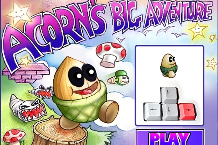 Acorns Big Adventure Game