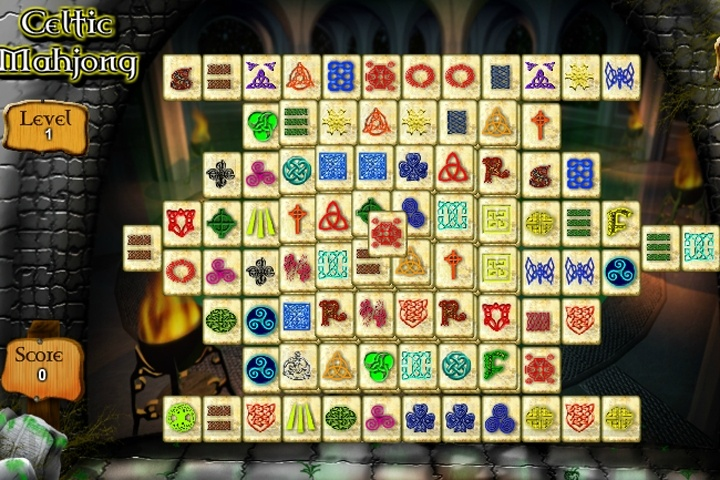 free celtic mahjong games