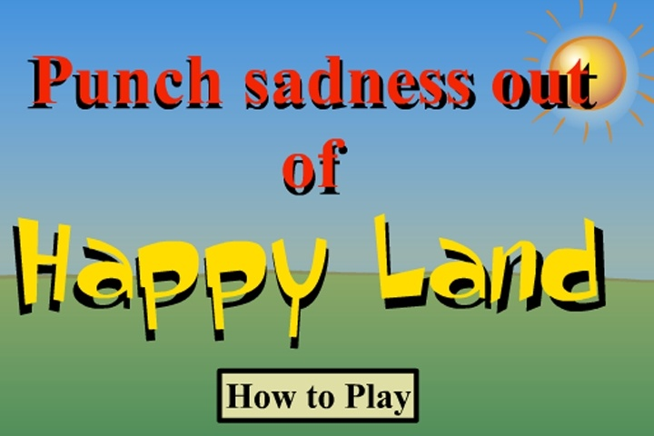 Punch Sadness Out Of Happy Land Game