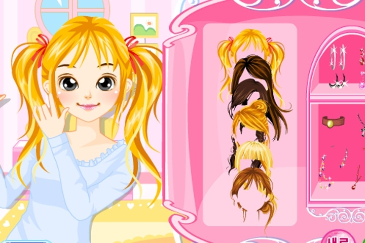 Hair (Page 1) - Makeover - Dress Up Games
