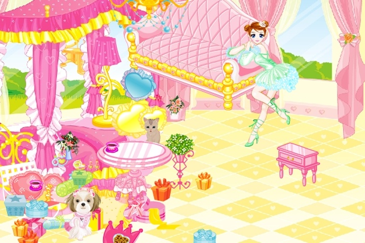 Princess Room Decorations Game Play Free Decorating Games Games Loon