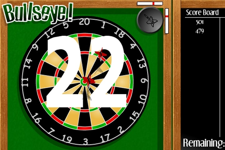 Bullseye Game - Play Free Darts games - Games Loon