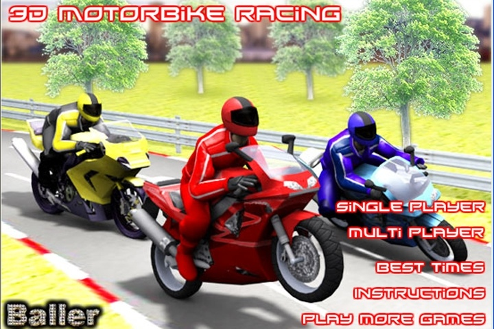 3D Future Bike Racing - Free Online Game on
