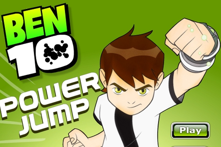 Ben 10 Power Jump Game