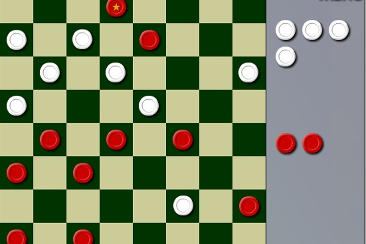 3 In One Checkers Game