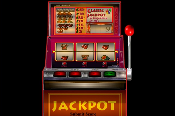 Classic Jackpot 3 Wheel Slot Machine Game - Slots games