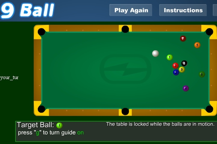 9 Ball Pool Game Sports Online Info