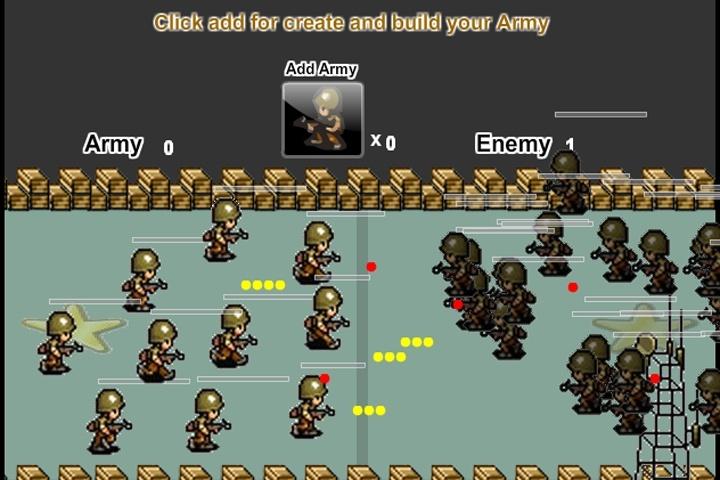 build a army games free online