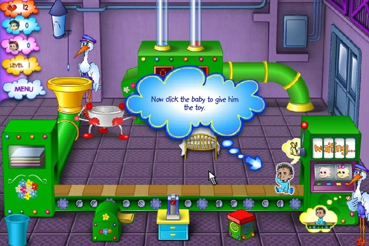 Baby Blimp Game - Play Free Time Management & Business ...