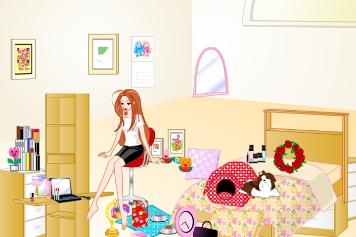 Superieur Barbie Bedroom Makeover Game