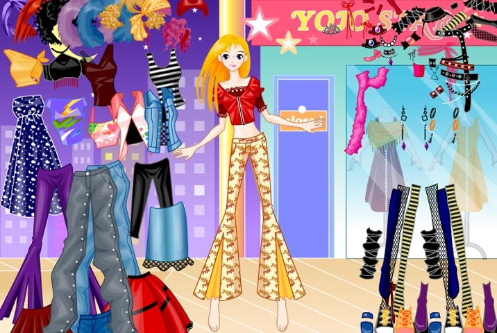Funky Disco Fashion Girl Dress Up Game Play Free Fashion Games Games Loon
