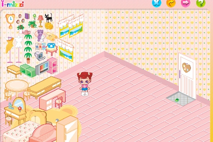 Online Home Decoration Games: Bedroom Makeover 4 Game