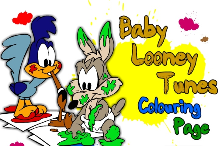 Baby Looney Tunes Coloring Page Game - Coloring games ...