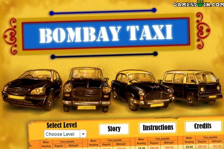 Bombay Taxi Game - Parking games - Games Loon