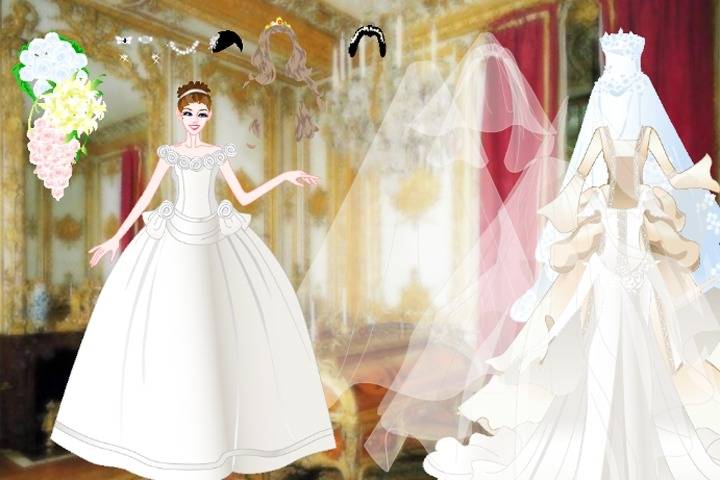 Celebrity Wedding Dresses Dress Up Game - Wedding games - Games Loon